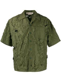 Marni рубашка свободного кроя CUMU0156Y0S52539