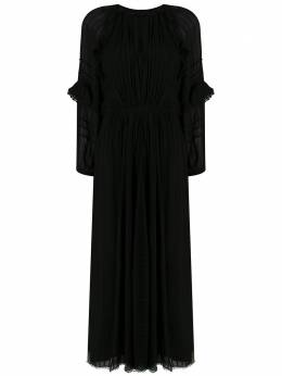 Isabel Marant Etoile платье макси с длинными рукавами RO157020P031E