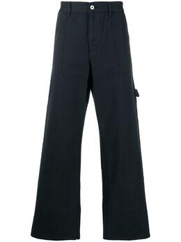 Loewe укороченные расклешенные брюки H2102061IB
