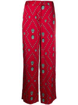 Kirin брюки широкого кроя с принтом KWCA012S20FAB0022551