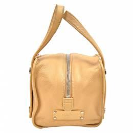 Chanel Beige Leather Hexagonal Bolt Small Bag