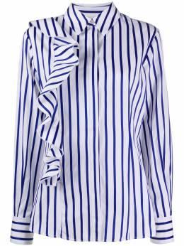 MSGM рубашка в полоску с оборками 2841MDE10X207102