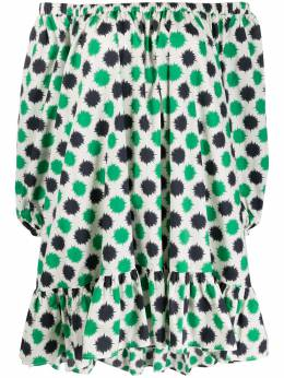 La Doublej платье Paloma с принтом DRE0162COT001PMP0001