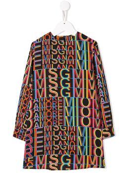 MSGM Kids платье с логотипом 20698