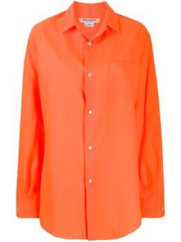 Junya Watanabe удлиненная рубашка на пуговицах JEB008S20