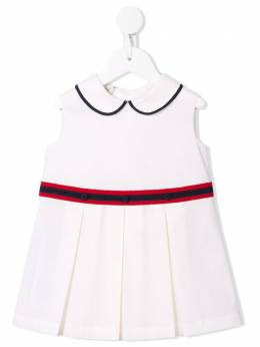 Gucci Kids платье со складками 604648ZB365