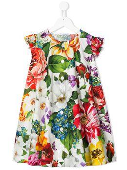 Dolce & Gabbana Kids платье с цветочным принтом L52DE4HS5F9