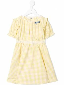 Familiar платье в клетку гингем 347290