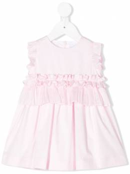 Il Gufo платье с оборками P20VM570C0046