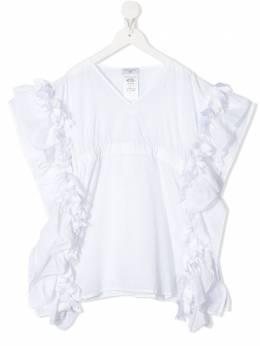 Monnalisa блузка с оборками 9959015091