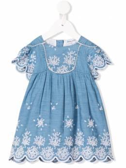 Tartine Et Chocolat платье с вышивкой TQ30131