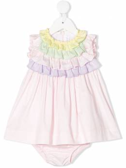 Il Gufo платье с оборками P20VM569C0046