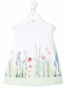 Il Gufo расклешенное платье с цветочным принтом P20VM579C4057