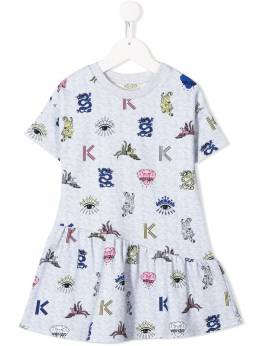 Kenzo Kids платье Oriental Icons KQ30268