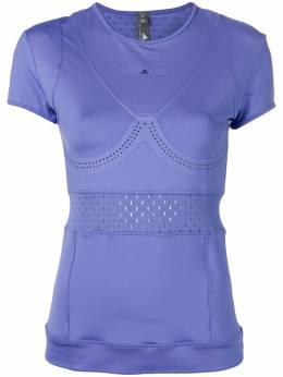 Adidas by Stella McCartney футболка с перфорацией DT9258