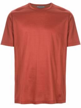 Corneliani шелковистая футболка 83G5009125000