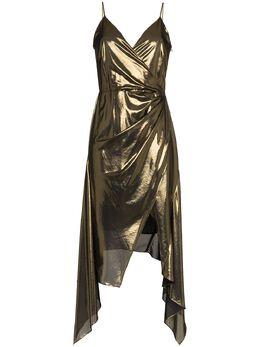 Haney платье 'Alaina' с эффектом металлик FA186111