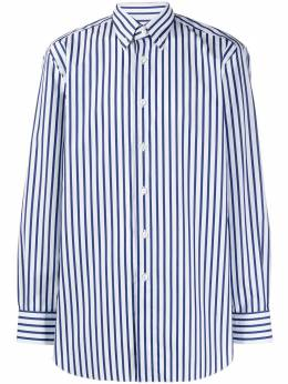 Brioni полосатая рубашка на пуговицах RCL81DP909E