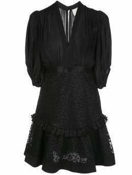 Alexis коктейльное платье Estella с вышивкой A41903125764