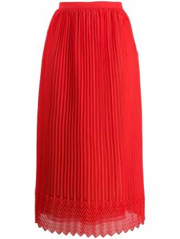 Marco De Vincenzo плиссированная юбка с завышенной талией MQ5226LMDVPL07