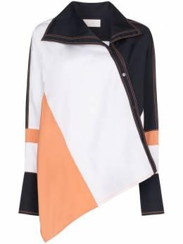 Peter Pilotto юбка асимметричного кроя в стиле колор-блок 20PSST125000MUL