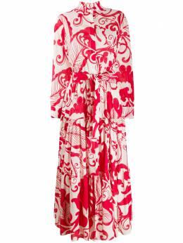 La Doublej платье-рубашка макси Bellini DRE0016COT003MRE0001