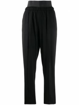 Fabiana Filippi брюки прямого кроя с завышенной талией PAD260B1920000C098