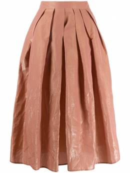Fabiana Filippi юбка А-силуэта со складками GND260W3540000A620