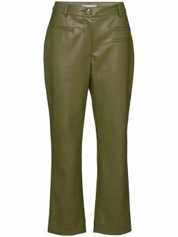 Rejina Pyo укороченные брюки из искусственной кожи E117