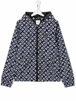 Givenchy Kids куртка с монограммой H26053M41