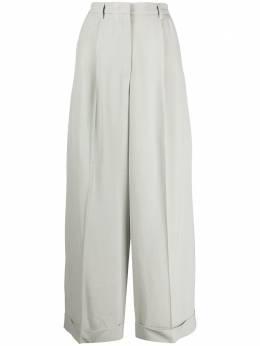 Fabiana Filippi брюки широкого кроя со складками PAD260W8920000A611