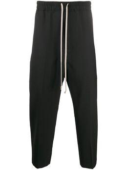 Rick Owens укороченные спортивные брюки RU20S7395WA