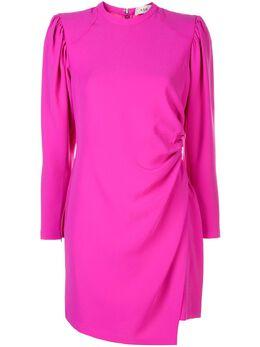 A.L.C. платье с запахом и круглым вырезом 6DRES00820