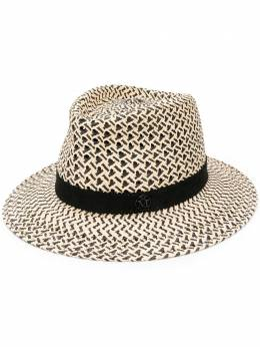 Maison Michel плетеная шляпа 1003079001