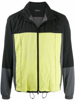 Z Zegna легкая куртка в стиле колор-блок VU006ZZT090