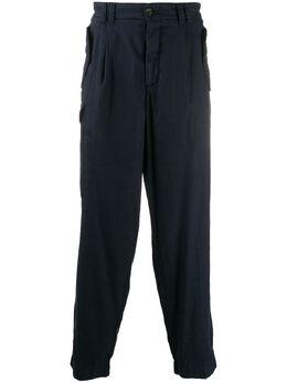 Giorgio Armani брюки свободного кроя 0SGPP09XT01FI