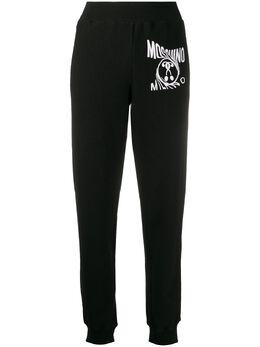 Moschino спортивные брюки с логотипом A03040528