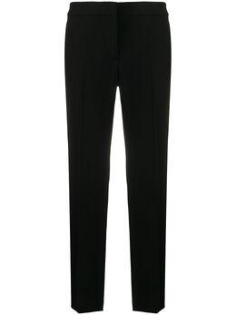 Moschino брюки строгого кроя с завышенной талией J03330525