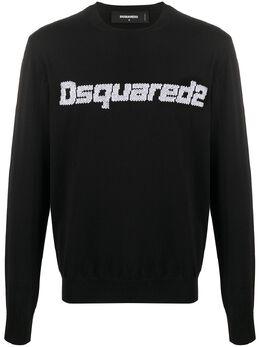 Dsquared2 свитер с жаккардовым логотипом S71HA0981S17308
