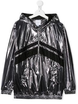 Givenchy Kids куртка на молнии с логотипом H16057016
