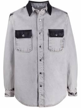 Alexander Wang джинсовая рубашка 6WC1201052D127