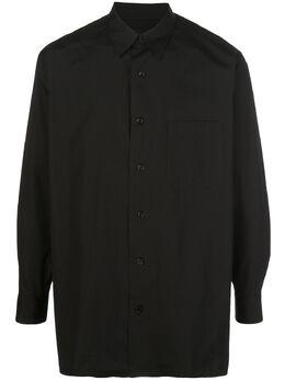 Yohji Yamamoto рубашка с принтом HNB26015