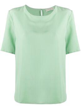 Etro футболка с круглым вырезом 136038504