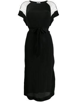 Escada Sport прозрачное платье с узором в горох 5031890