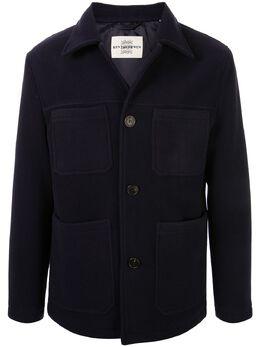 Kent & Curwen пальто с накладными карманами K4057E108038