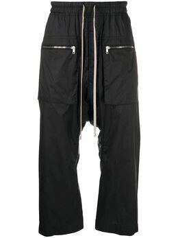 Rick Owens DRKSHDW спортивные брюки свободного кроя DU20S5375ND