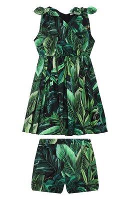 Комплект из платья и шорт Dolce&Gabbana L52DL7/HS5HE/2-6