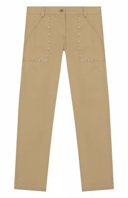 Хлопковые брюки Ermanno Scervino 46I PL01 GAB/4-8