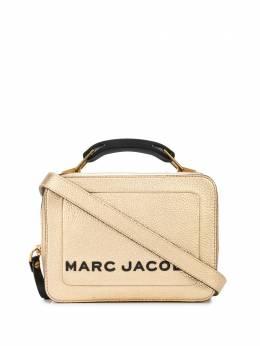 Marc Jacobs фактурная сумка с эффектом металлик M0016183710