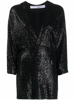 Iro платье с глубоким V-образным вырезом и пайетками WM33GINDOU